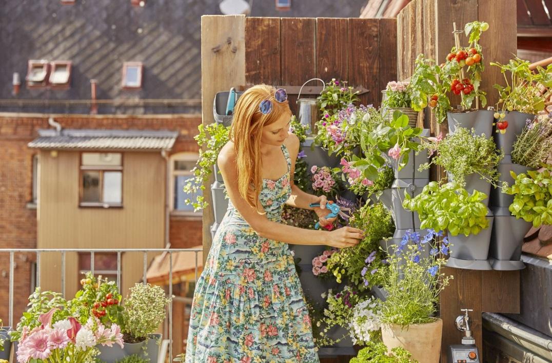 composteur  pour jardiner sur unbalcon