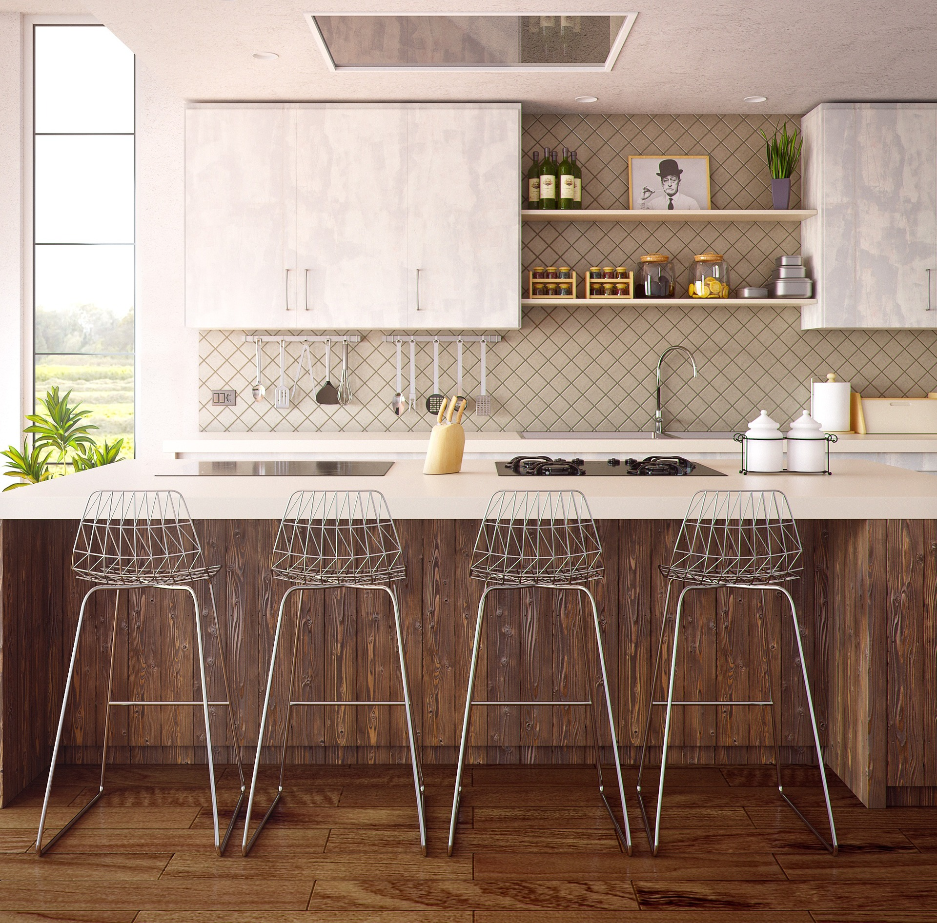 Home staging cuisine - idee-deco-maison.fr
